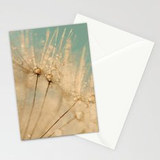 dandelion gold and mint Stationery Cards