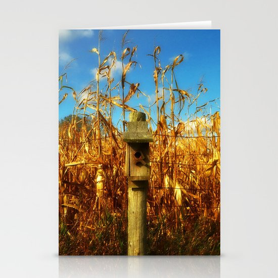 Bird House Stationery Card