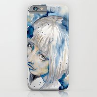 Nieves watercolor portrait by carographic iPhone 6 Slim Case