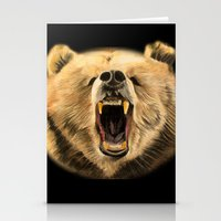 Roaring Bear Stationery Cards