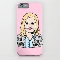 Leslie Knope is my spirit animal iPhone 6 Slim Case