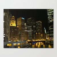 Chicago River 2005 Canvas Print
