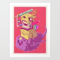 Finn And Jake Art Print