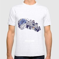 Transformers - Megatron Mens Fitted Tee Ash Grey SMALL