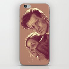 Mysterious People - Doctor Who iPhone & iPod Skin