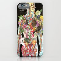 skeleton iPhone & iPod Cases featuring Skeleton by Ben Giles