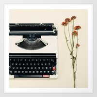 The Nostalgic Typewriter… Art Print