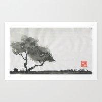 Agrons' Tree 1.0 Art Print