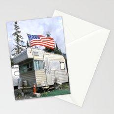 Camper and trailer, Denali Alaska! Stationery Cards