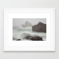 In The Midst Of A Tempest Framed Art Print