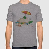Sandwich Mens Fitted Tee Athletic Grey SMALL