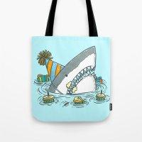 Birthday Shark II Tote Bag