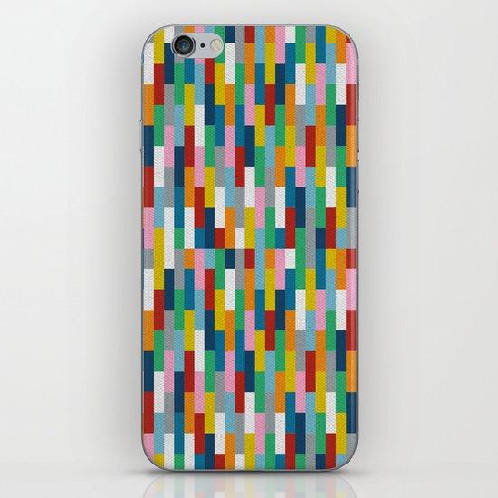 Bricks Rotate #2 iPhone & iPod Skin