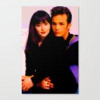 90210 Canvas Print