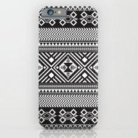 Monochrome Aztec Inspire… iPhone 6 Slim Case