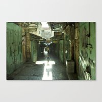 Israel, Jerusalem Canvas Print