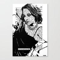 And The World Stood Stil… Canvas Print