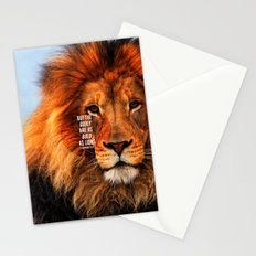 BOLD AS LIONS Stationery Cards