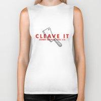 Cleave It - Zombie Survi… Biker Tank
