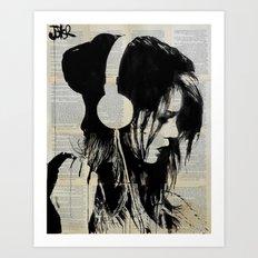 melodies solace Art Print