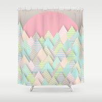 Forest Pastel Shower Curtain