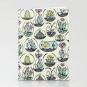 glass bowls of joy Stationery Cards