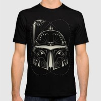 Boba Fett on Acid Mens Fitted Tee Black SMALL