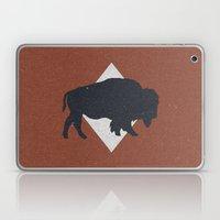 Bison & Blue Laptop & iPad Skin