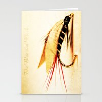 The Blae and Black Stationery Cards