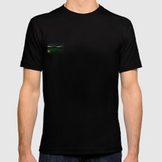 mr signature glitch huge Black Mens Fitted Tee SMALL