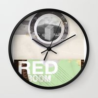 The RED Project Coming S… Wall Clock