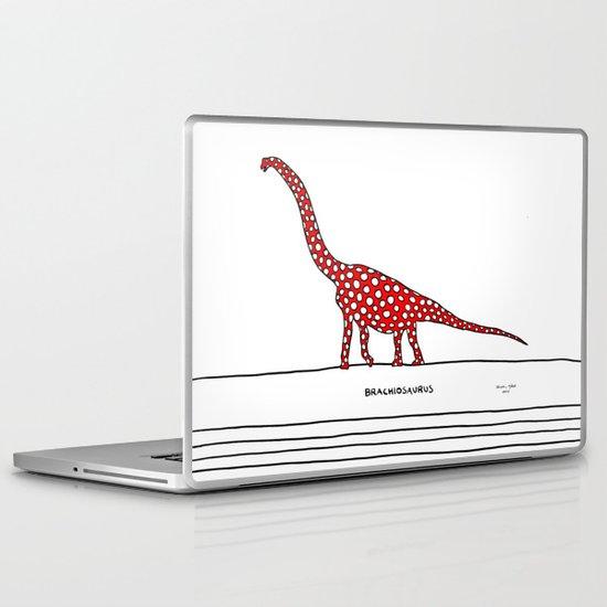 brachiosaurus Laptop & iPad Skin