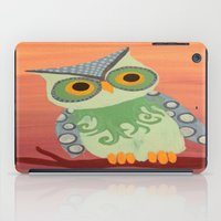 Owl All About It iPad Case