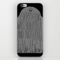 slaughterhouse V - everything was beautiful - vonnegut iPhone & iPod Skin