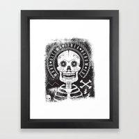 Mors Framed Art Print