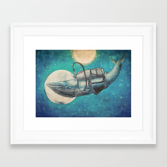The Journey Framed Art Print