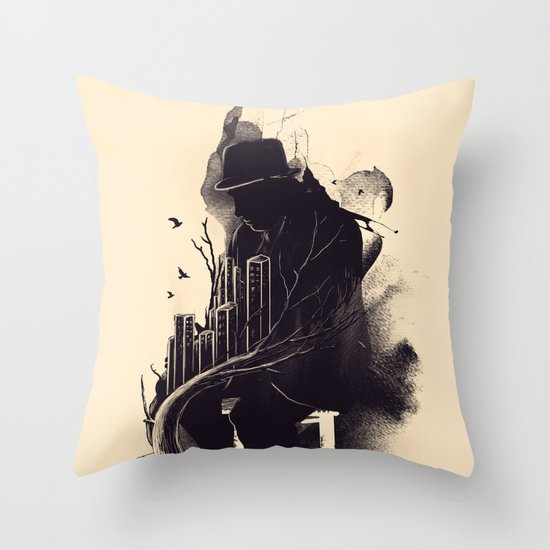 One World, One Mission Throw Pillow