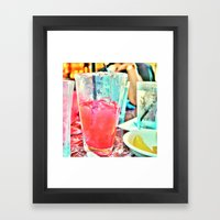 Ice Cold  Goodness Framed Art Print