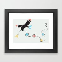 BEAUTY IS SOUGHT EVEN IF IT'S INAPPLICABLE TO ONE Framed Art Print