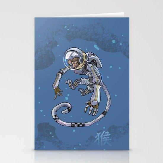 Astro Zodiac Force 09: Monkey Stationery Card