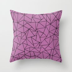 Ab Outline Bodacious  Throw Pillow