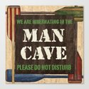 Man Cave Fishing Canvas Print