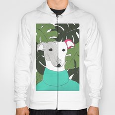 Mr.T and monstera Hoody