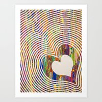 We All Love The Beat Art Print