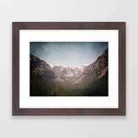 Montana Blues Framed Art Print