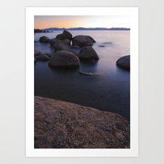 Bonsai Rocks Art Print