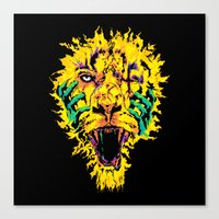 Hannibal Tripped Canvas Print