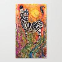 Color Stripes Canvas Print