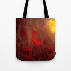 FLOWERS - Poppy heaven Tote Bag
