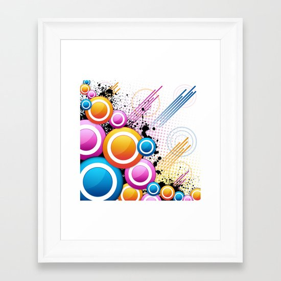 Get Ur Freak On... Framed Art Print